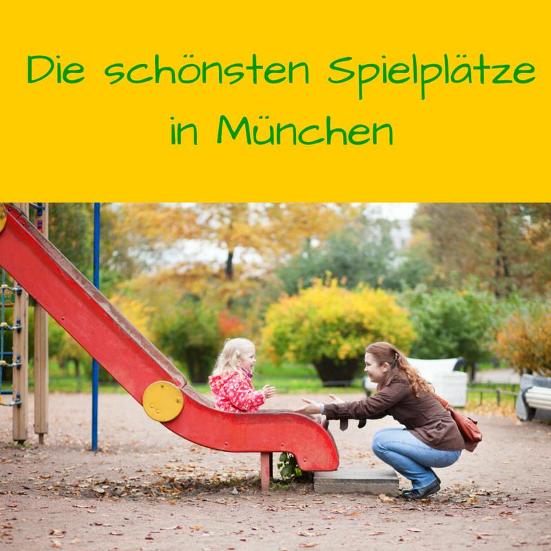 Die schönsten Spielplätze in München
