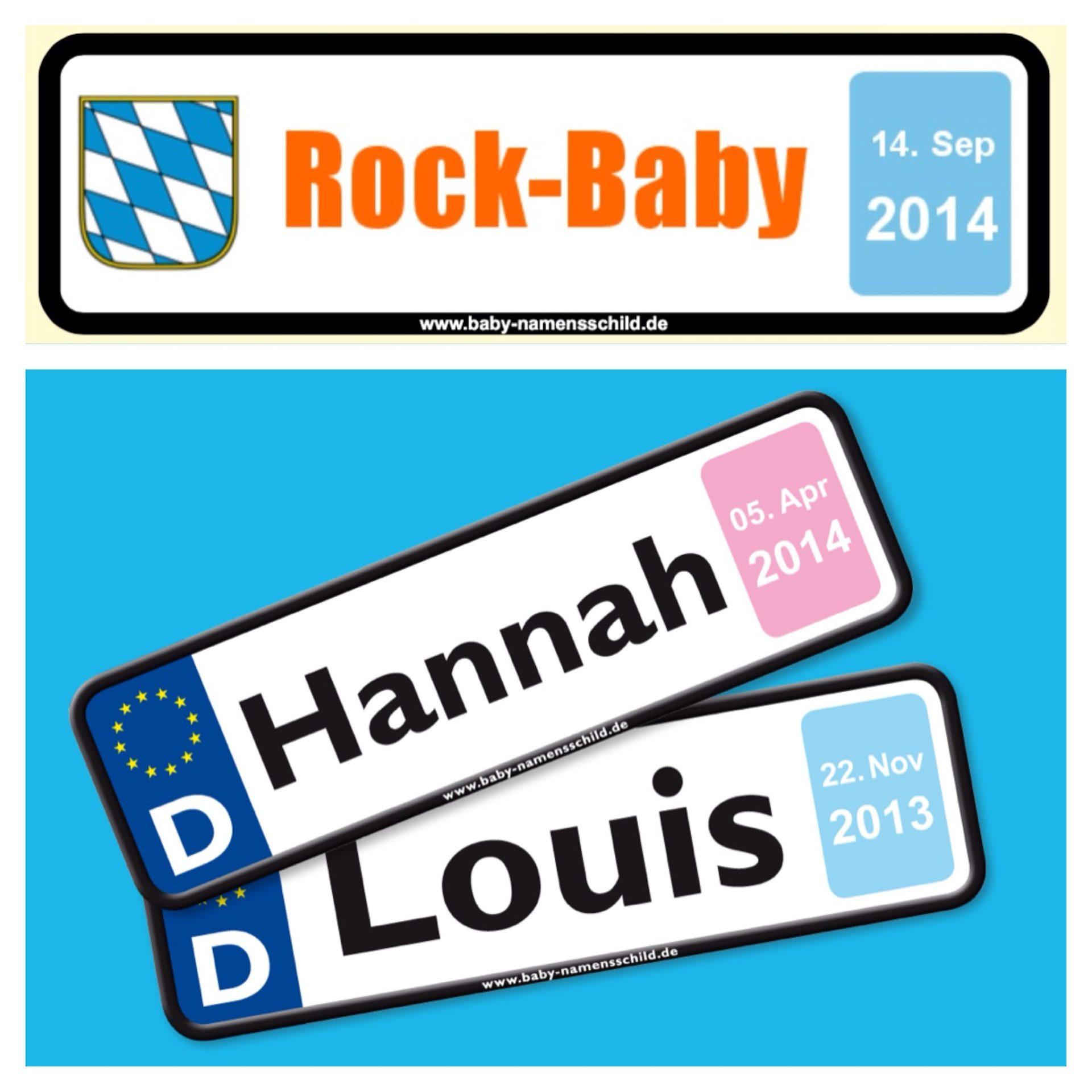 Baby namensschild kennzeichen gewinnen