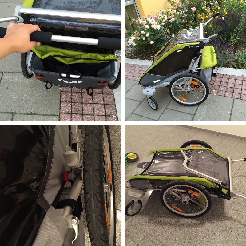 Thule Chariot Cougar 2 Test
