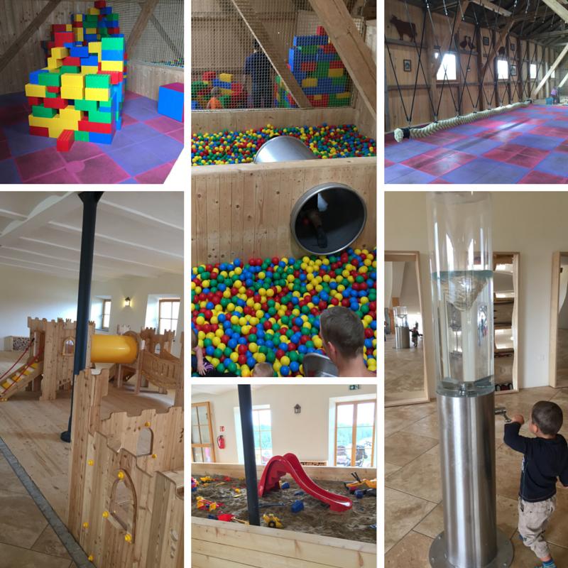indoor spielplatz spielstadl bergtierpark blindham