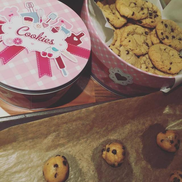 Es ist soweit!!! Theres no time like cookietime! Mamabackt chocolatechipcookieshellip