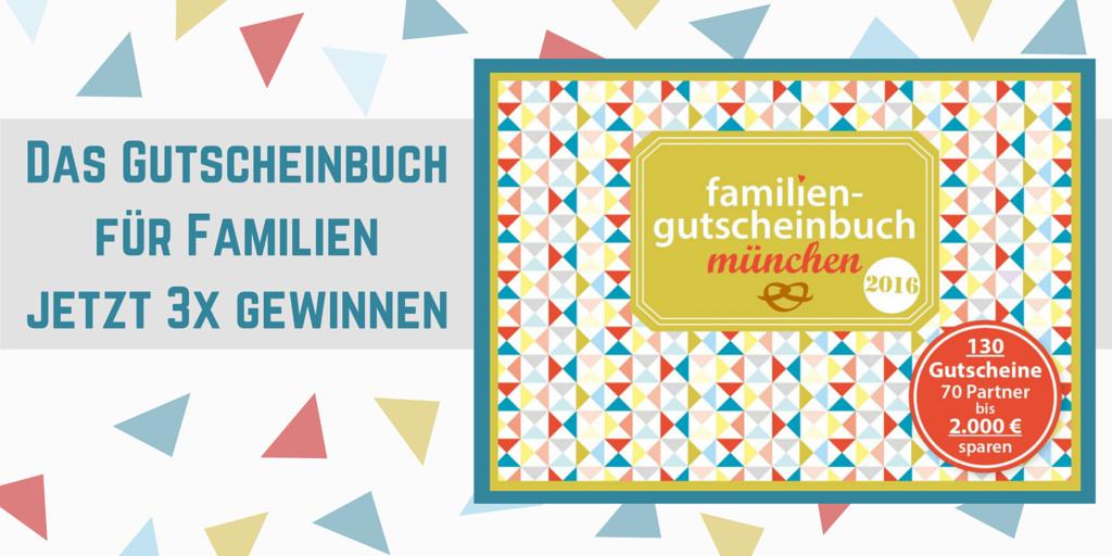 Das neue Gutscheinbuch für München - Das Familiengutscheinbuch