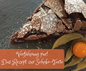 Rezept Schokoladen Tarte Mit Flüssigem Kern Einfach Und
