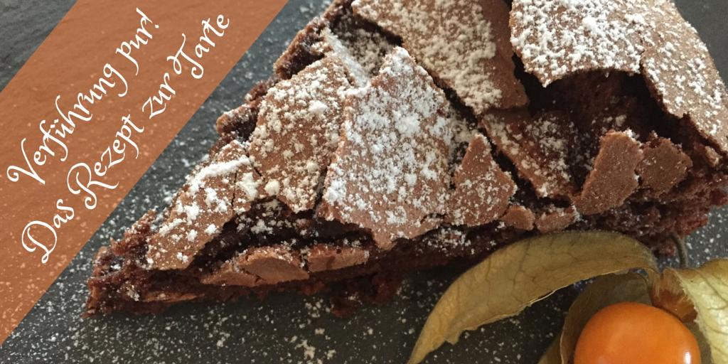 Rezept Schokoladen Tarte Mit Flüssigem Kern Einfach Und Schnell