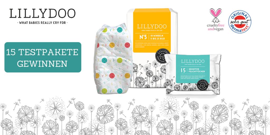 LILLYDOO - vegane und coole Windeln und Feuchttücher