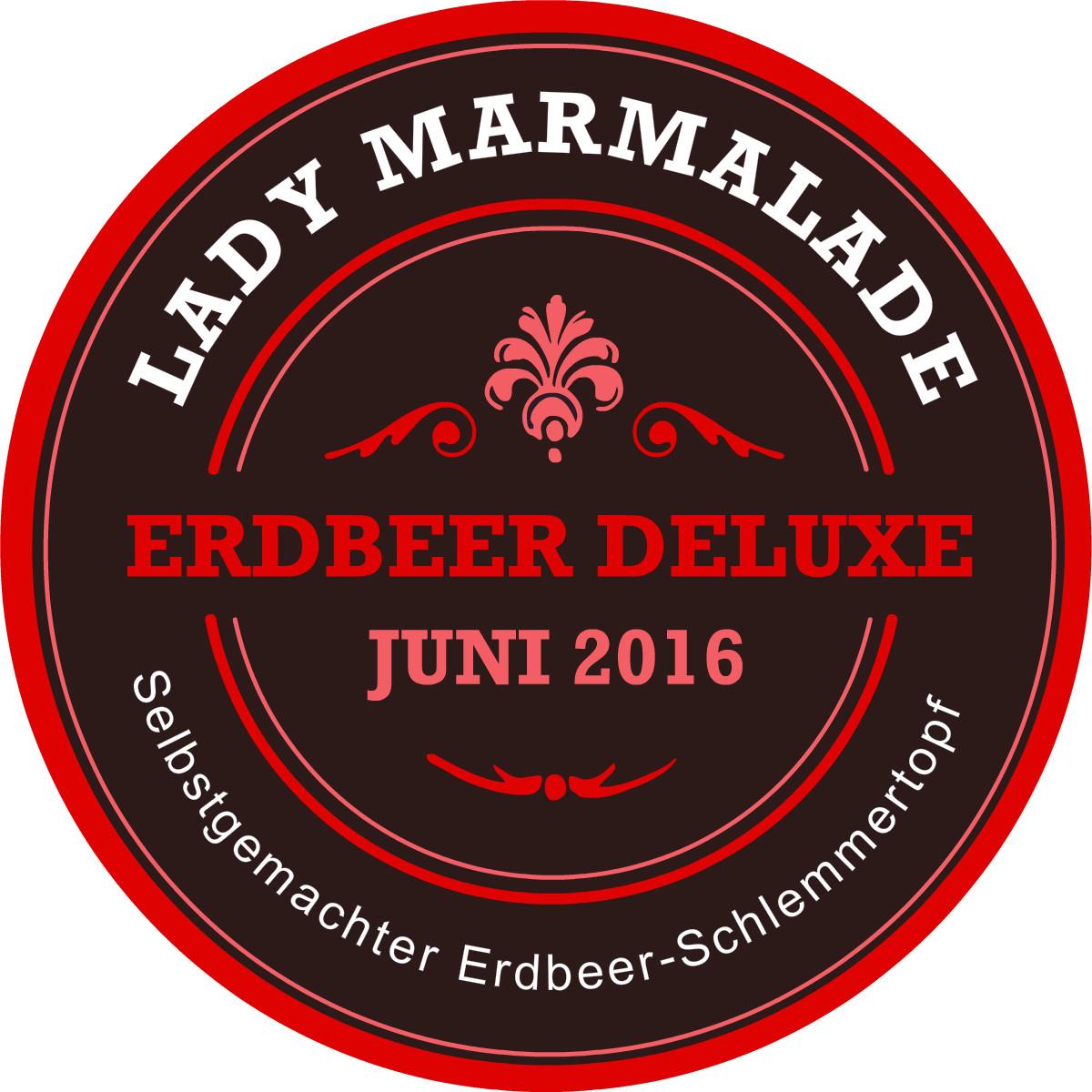 Marmelade Konfitüre beschriften Etiketten Label