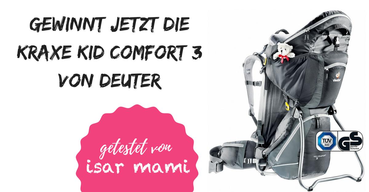 Die Kraxe Kid Comfort 3 von Deuter im Test