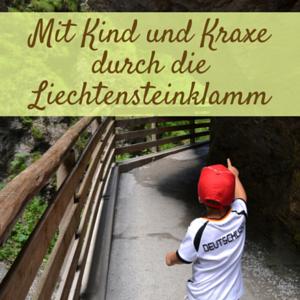 Die Liechtensteinklamm – Ein Erlebnis mit Kind und Baby