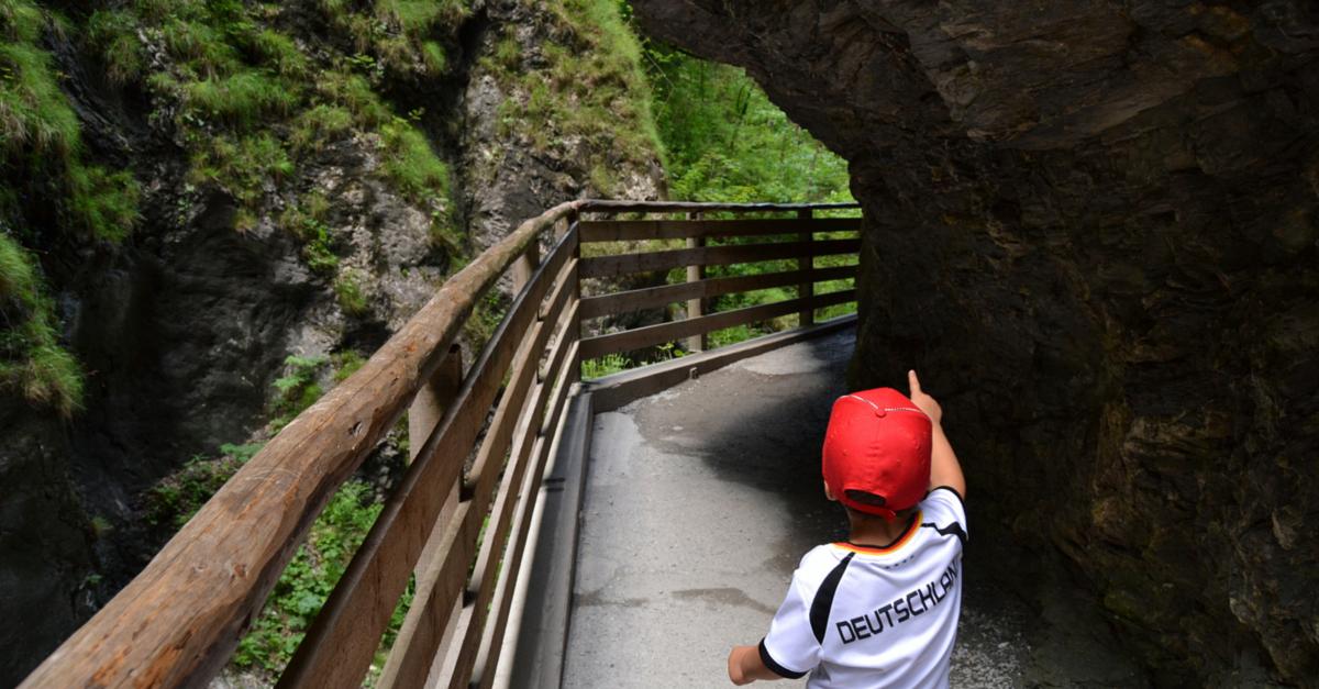 Die Liechtensteinklamm - Ein Erlebnis mit Kind und Baby