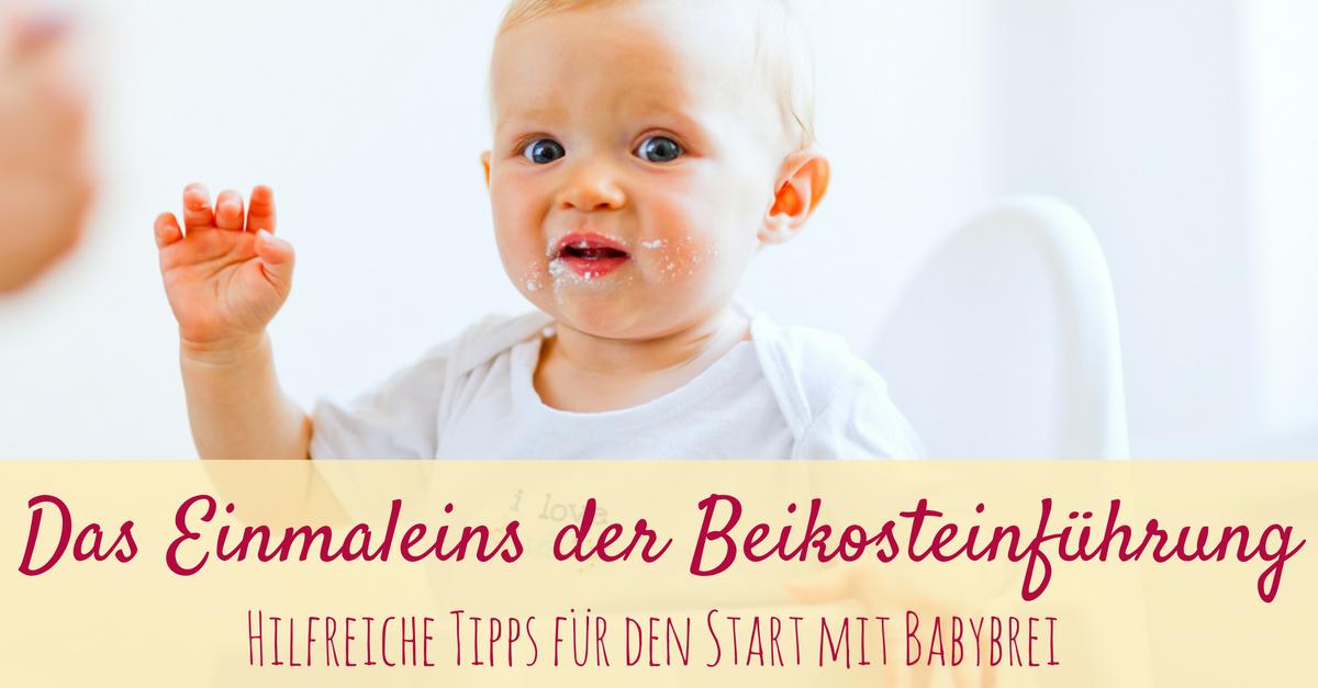 beikost einfuehrung start probleme wann erster babybrei