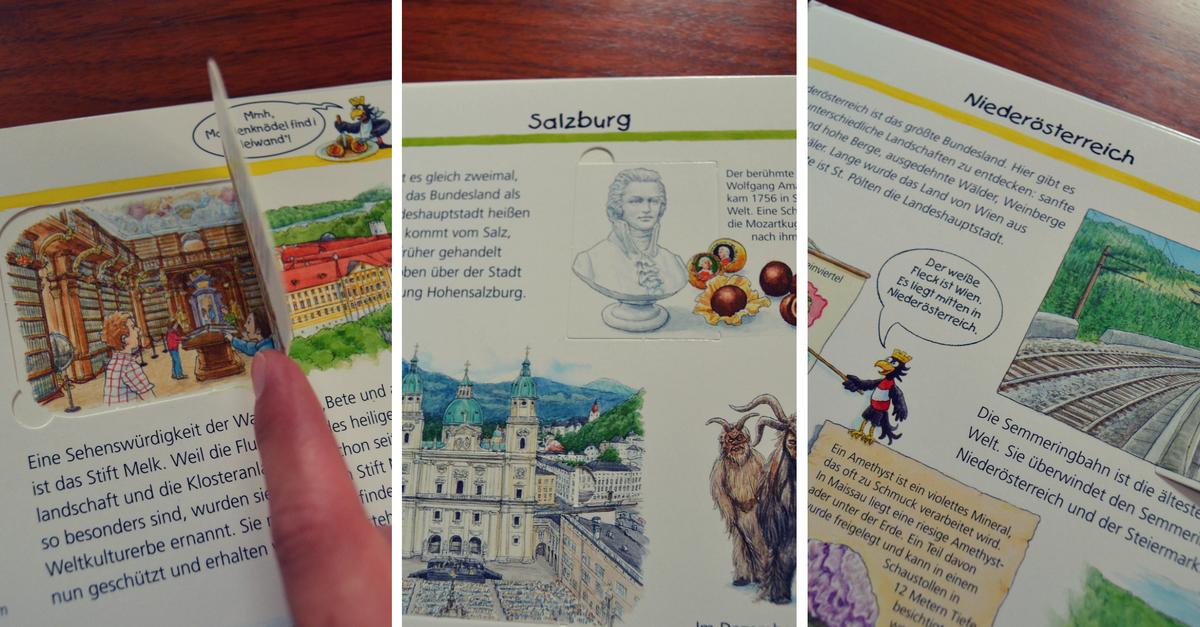 Das Kinderbuch Wir entdecken Österreich im Test