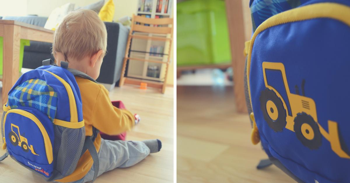 Kindergartenrucksack Step by Step Test Erfahrung