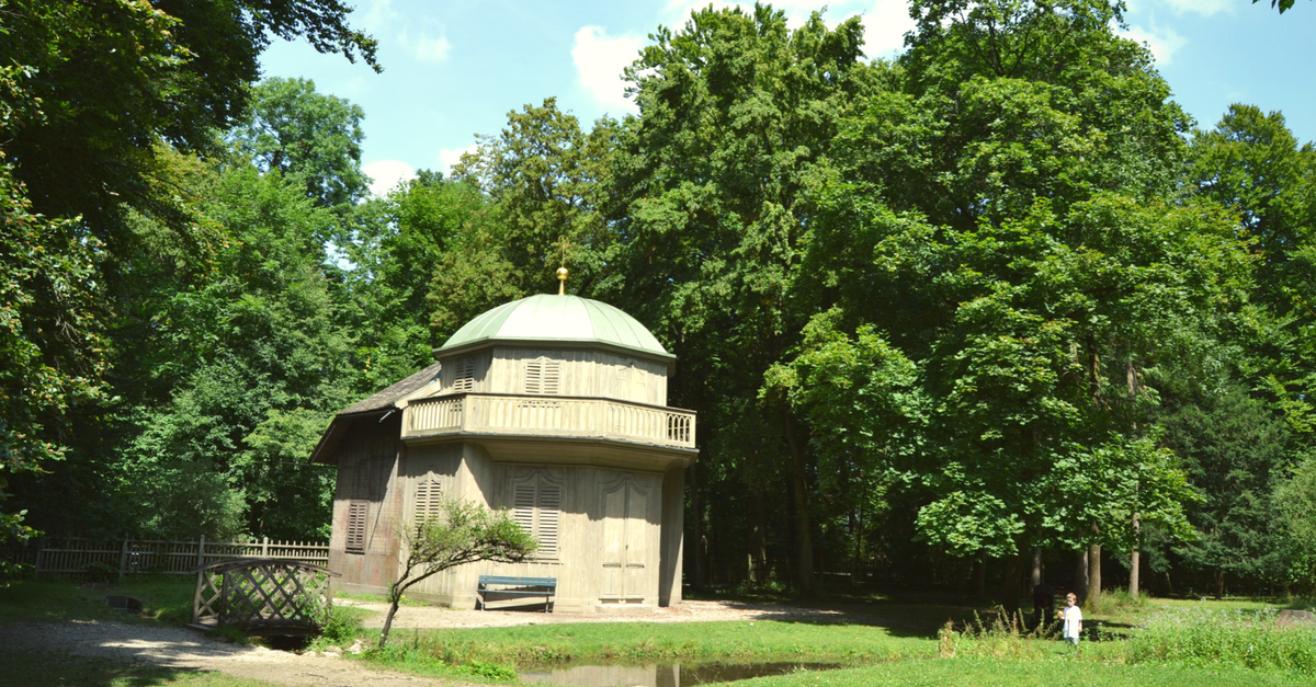 Kronprinzengarten Nymphenburger Schlosspark