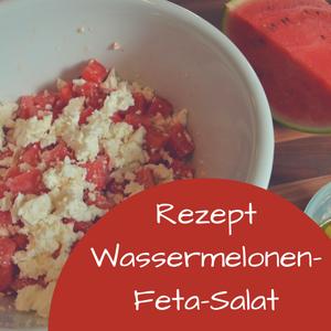 Rezept: Wassermelonen-Feta-Salat – Ein fruchtiger Sommersalat