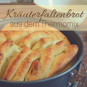 Rezept: Kräuterfaltenbrot aus dem Thermomix