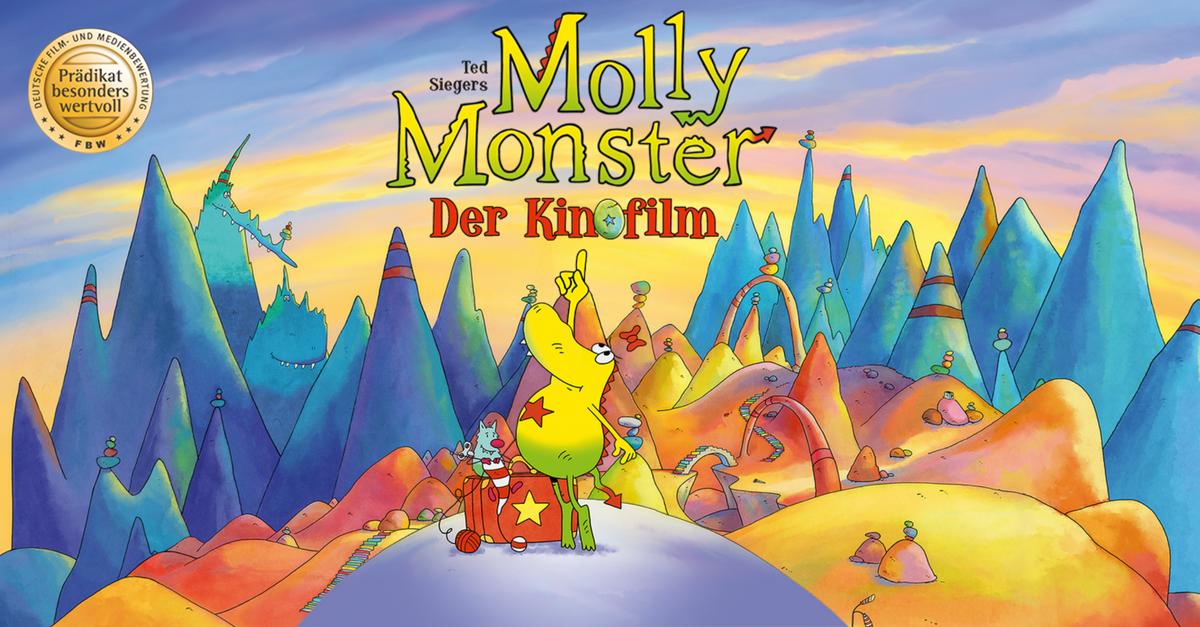 Molly Monster Kinofilm Trailer Kinder