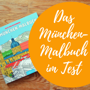 Das München Malbuch – Ein Ausmalbuch für Erwachsene