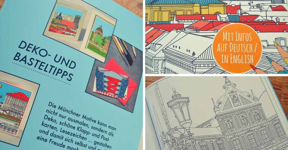 Das München Malbuch - Ein Ausmalbuch für Erwachsene