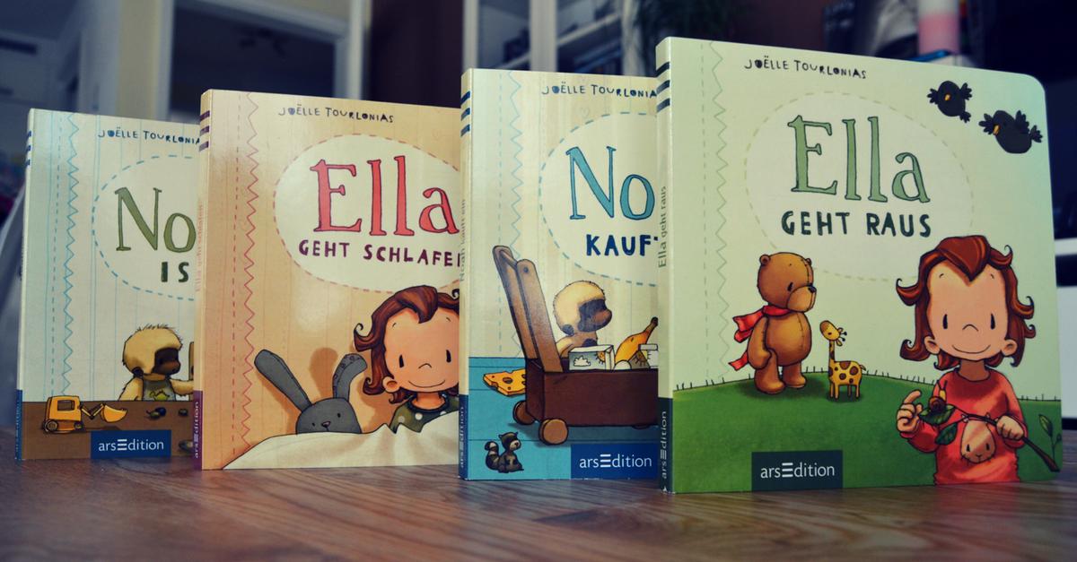Noah und Ella - Wunderhübsche Kinderbücher für Einjährige