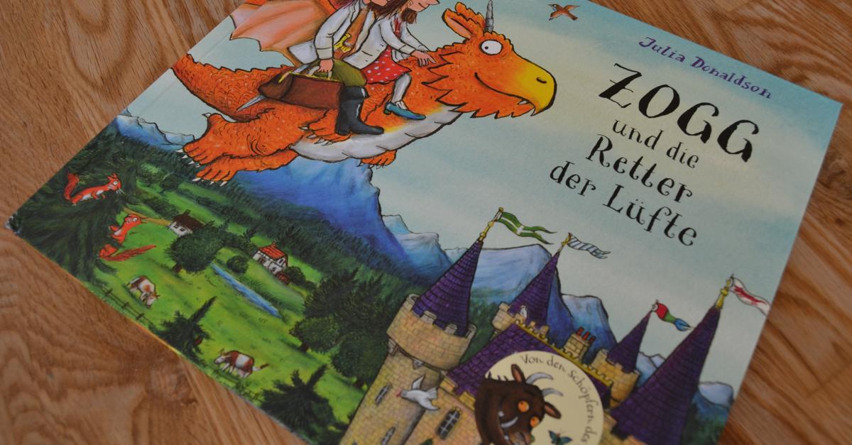 Zogg und die Retter der Lüfte - Neues von Axel Scheffler