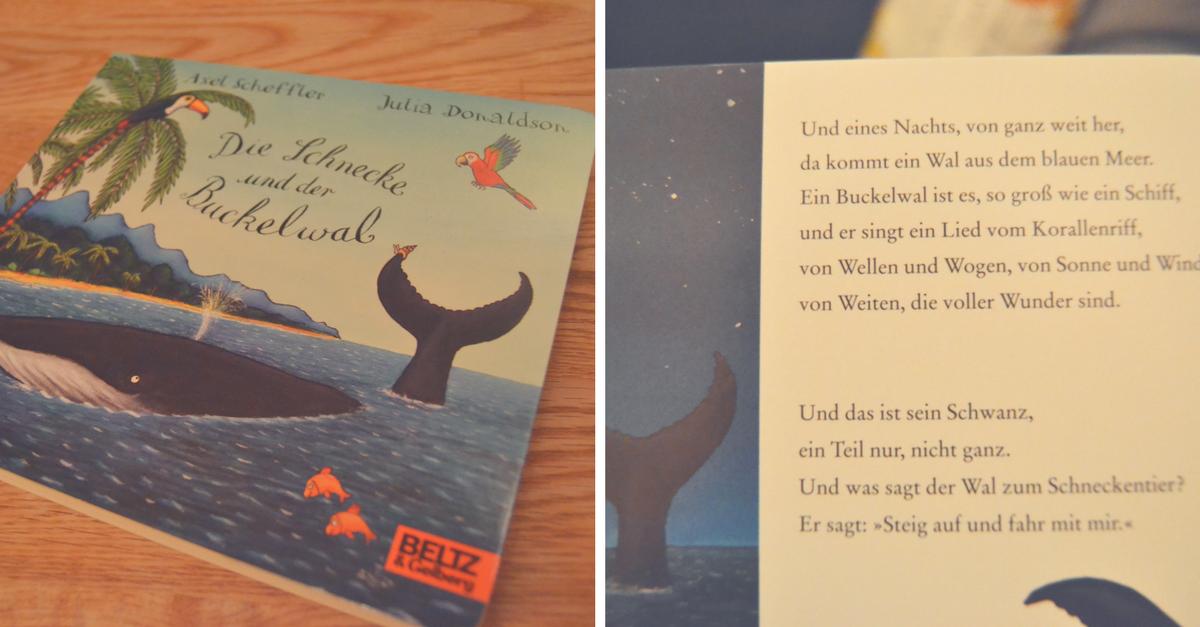 Die Schnecke und der Buckelwal - Das Kinderbuch von Axel Scheffler