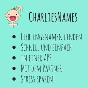 CharliesNames – Vornamen finden leicht gemacht, dank der App!
