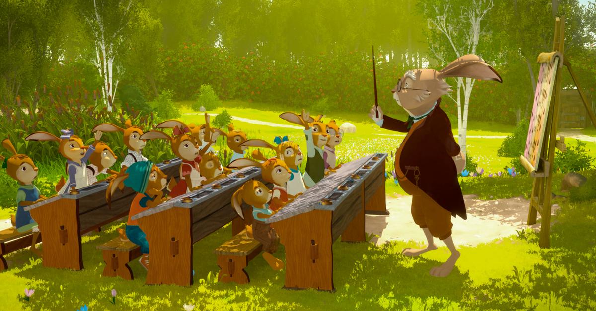 Die Häschenschule - Der Kinderfilm zum Buch läuft bald im Kino