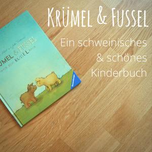 """Krümel und Fussel – Ein """"wollschweiniges"""" und zuckersüßes Kinderbuch"""