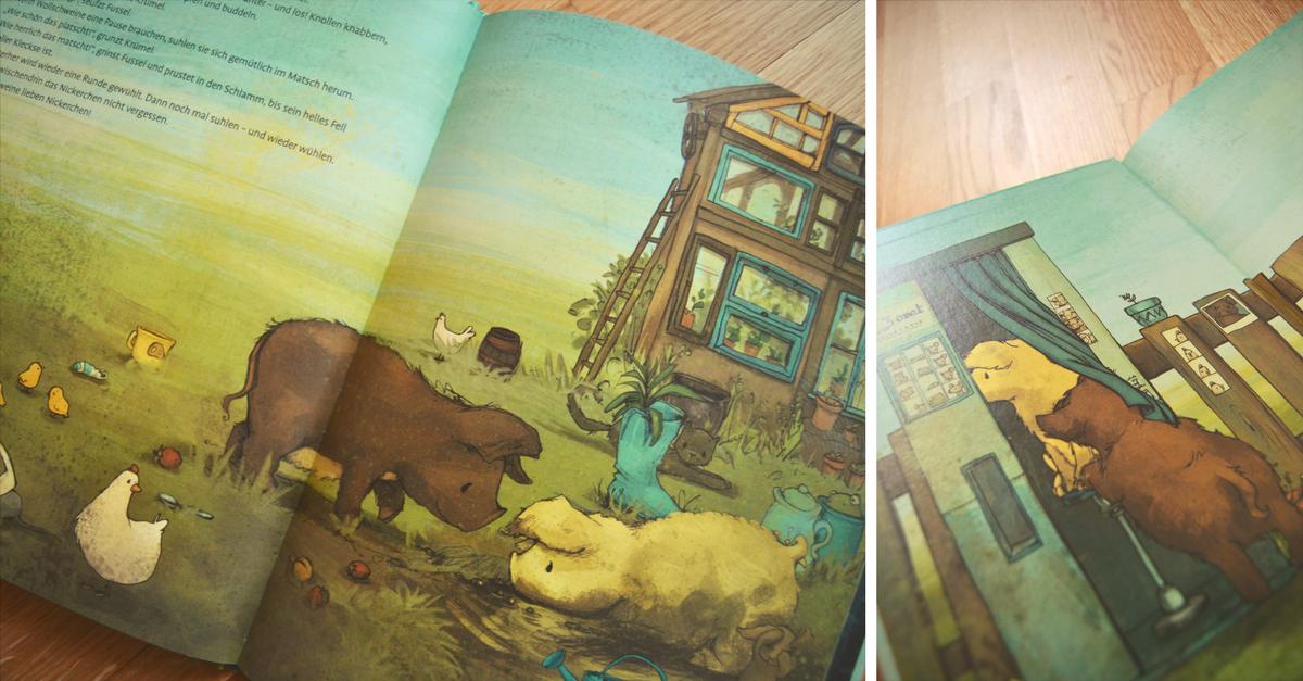 Kinderbuch Schweine