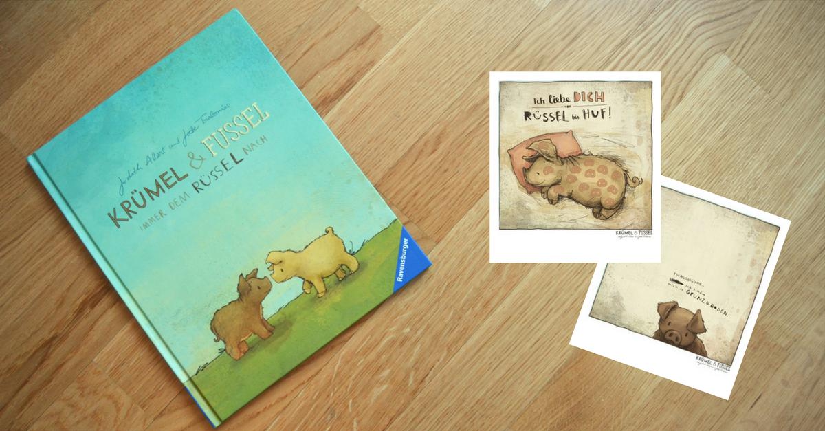 Kruemel und Fussel Kinderbuch