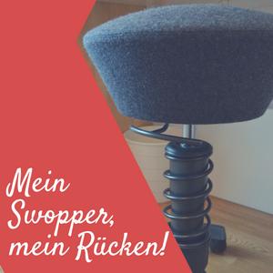 swopper LIVING – der perfekte Bürostuhl gegen Rückenprobleme