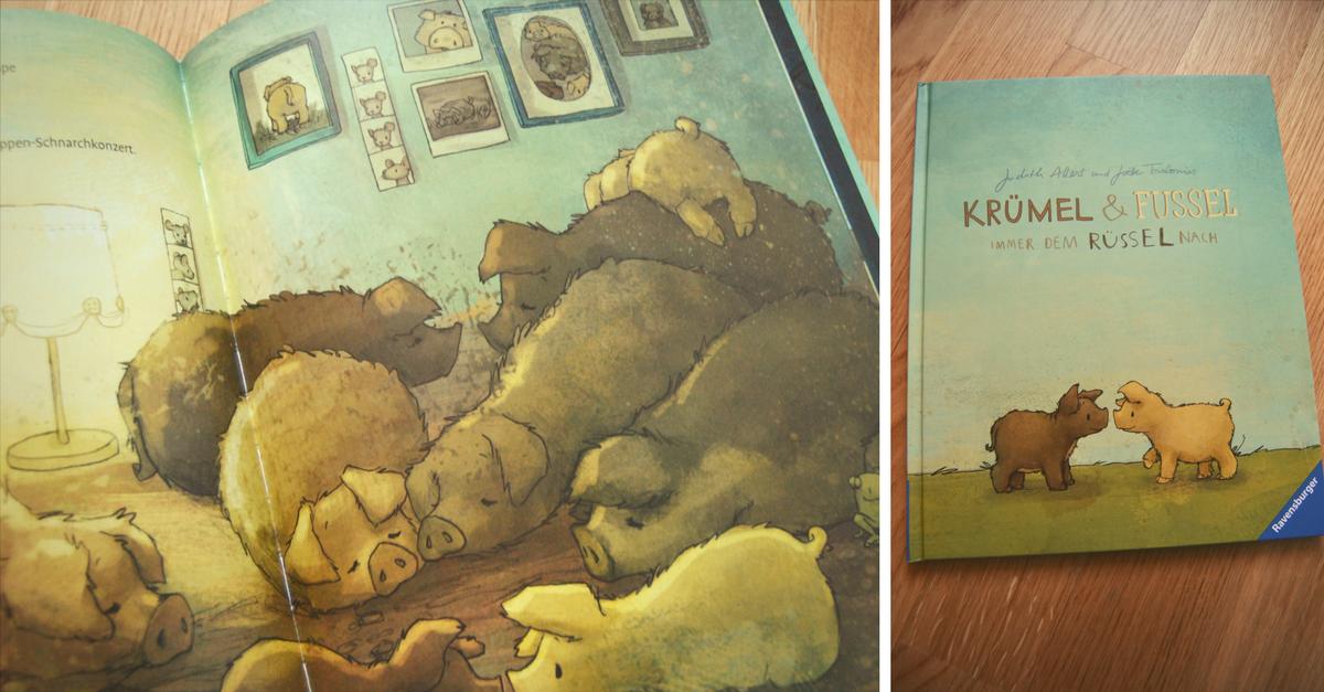 Krümel und Fussel - Ein wollschweiniges und zuckersüßes Kinderbuch