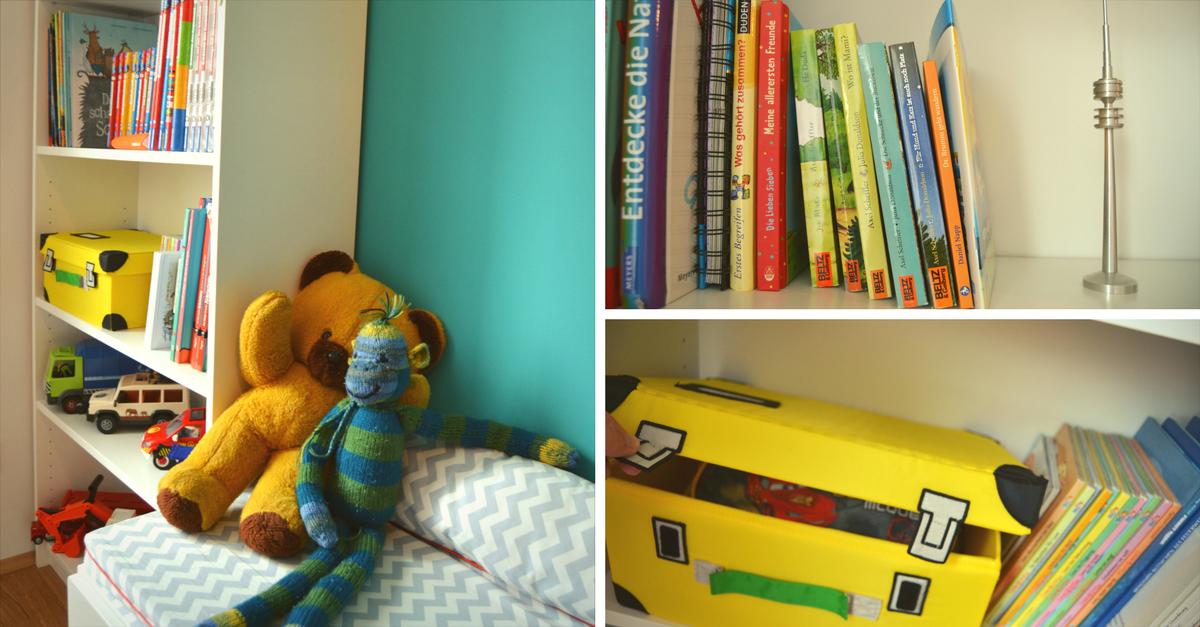 Kinderzimmer einrichtung bunte ideen f r kindergarten for Billy regal ideen