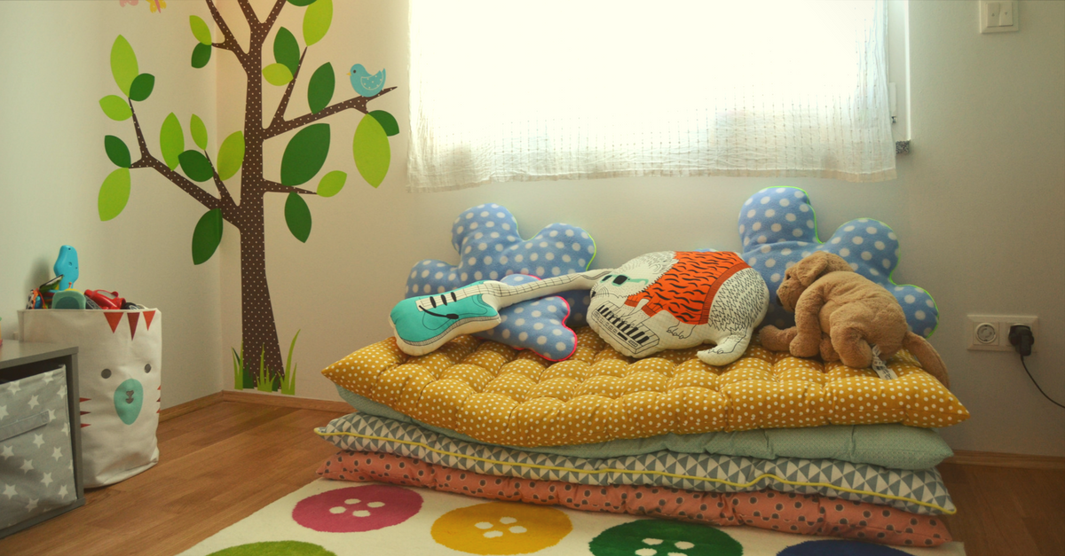 Gro bodenmatratze kinderzimmer bilder die k chenideen Vertbaudet kinderzimmer
