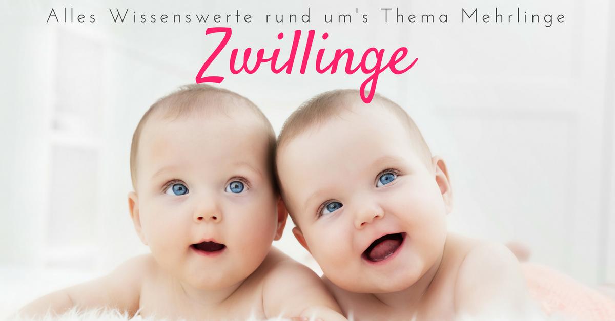 Zwillinge bekommen - Tipps und Empfehlungen bei Mehrlingsgeburten