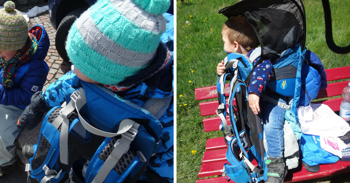 LittleLife Kraxen im Test - Freedom S4 und Ranger Child Carrier