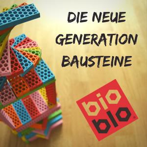 Bioblo – coole, bunte und ökologische Bausteine!
