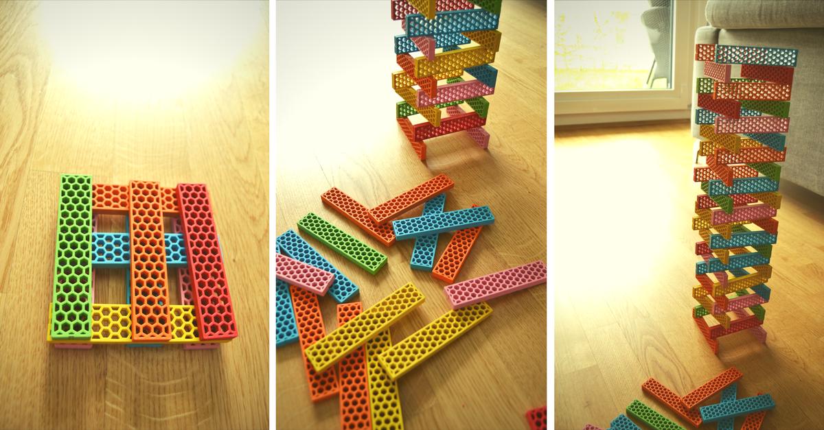 Bioblo - coole, bunte und ökologische Bausteine für Kinder!