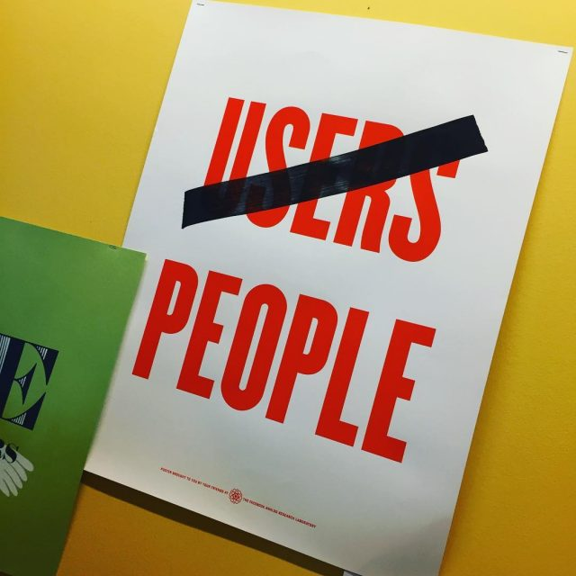 Not users People matters! FacebookDublin Notusers Peoplematters Poster Coffeebreak PerformanceBootcamp