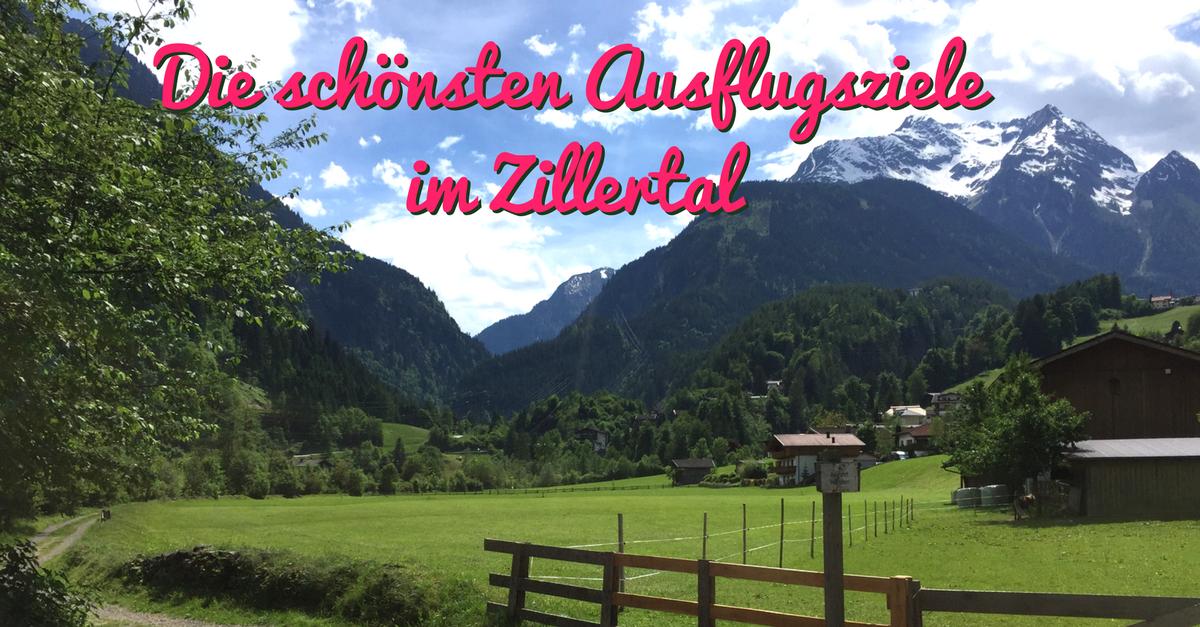 Die schönsten Ausflugsziele mit Kindern im Zillertal