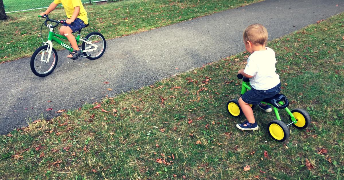 Woom Kinderfahrrad - der Test und Vergleich zum Kinderrad von Puky