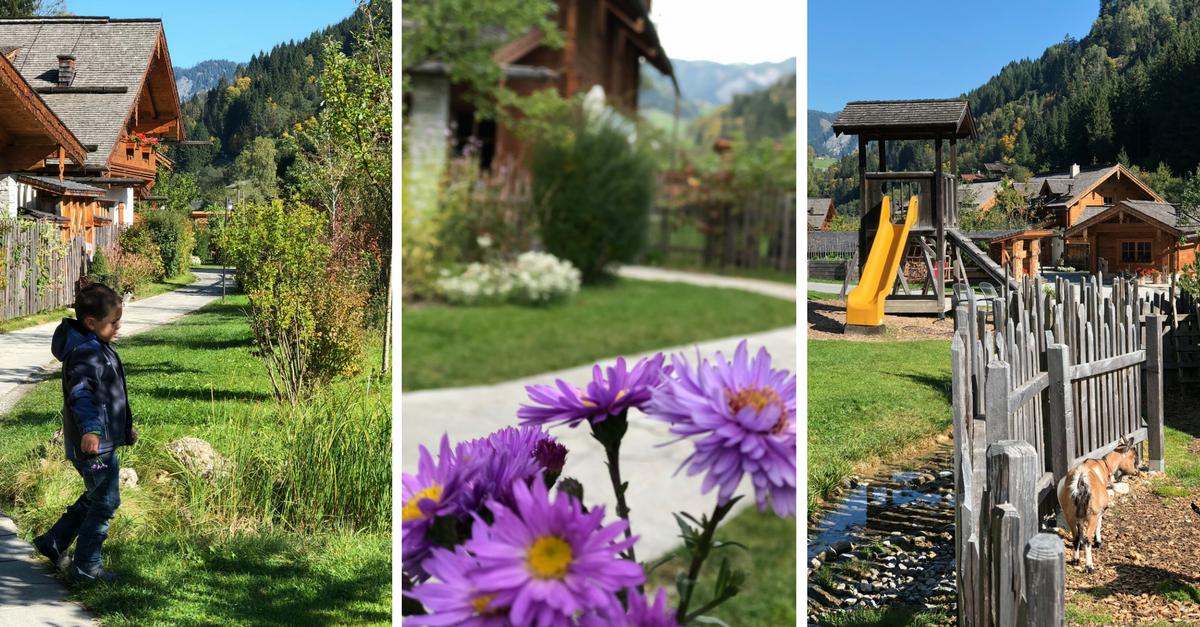 Holzlebn - Das urige Hüttendorf für Familien im Großarltal