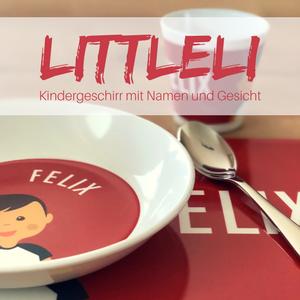 Littleli – Personalisiertes Kindergeschirr-Set