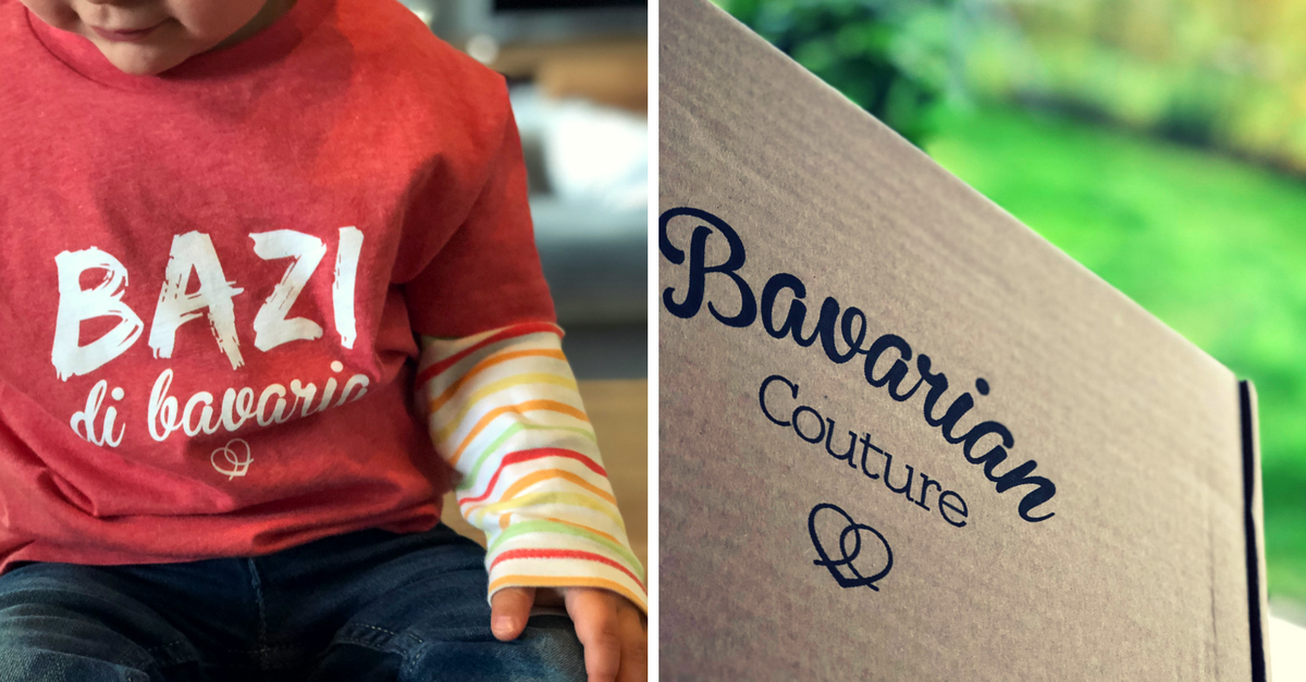 Bavarian Couture Shirt Kinder