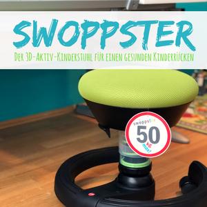 swoppster – Unsere Erfahrung und der Test zum Kinder-Drehstuhl