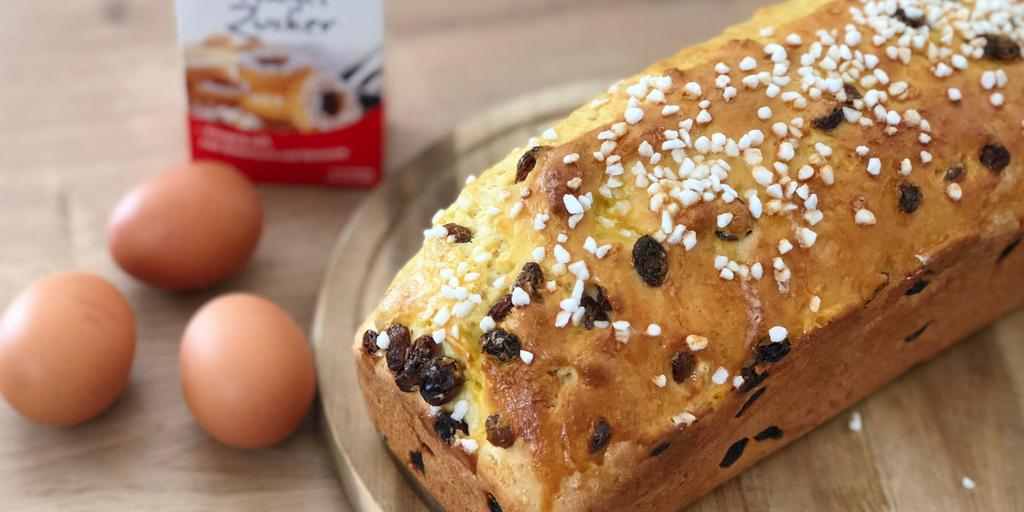 Rezept: Osterbrot - einfach und herrlich lecker mit oder ohne Thermomix