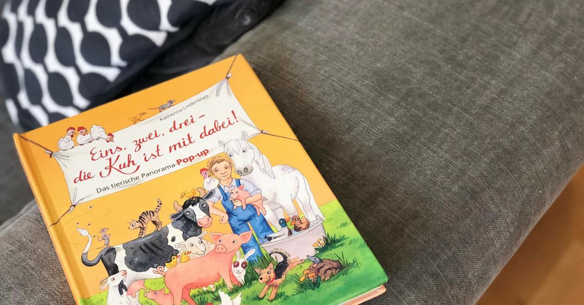 Das bunte Pop-Up-Buch für Kinder - Ein tolles Bauernhof-Panorama