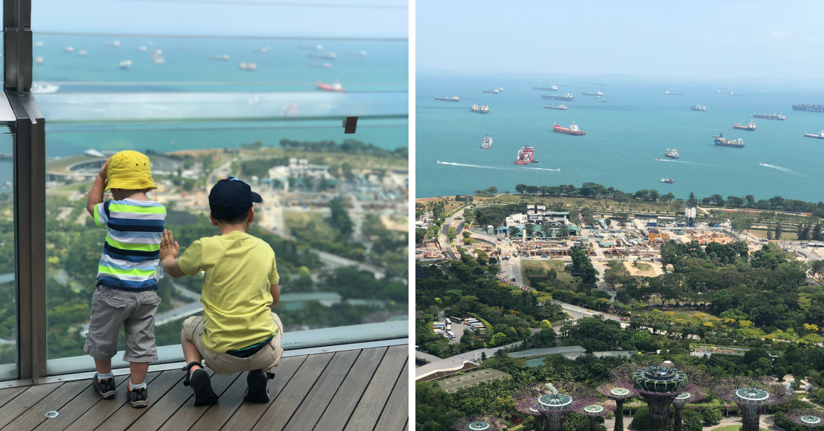 SkyPark Singapore with Kids