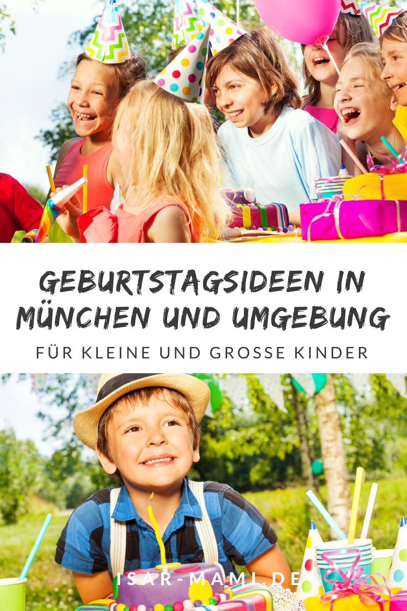 Die besten Ideen für den Kindergeburtstag in München und Umgebung