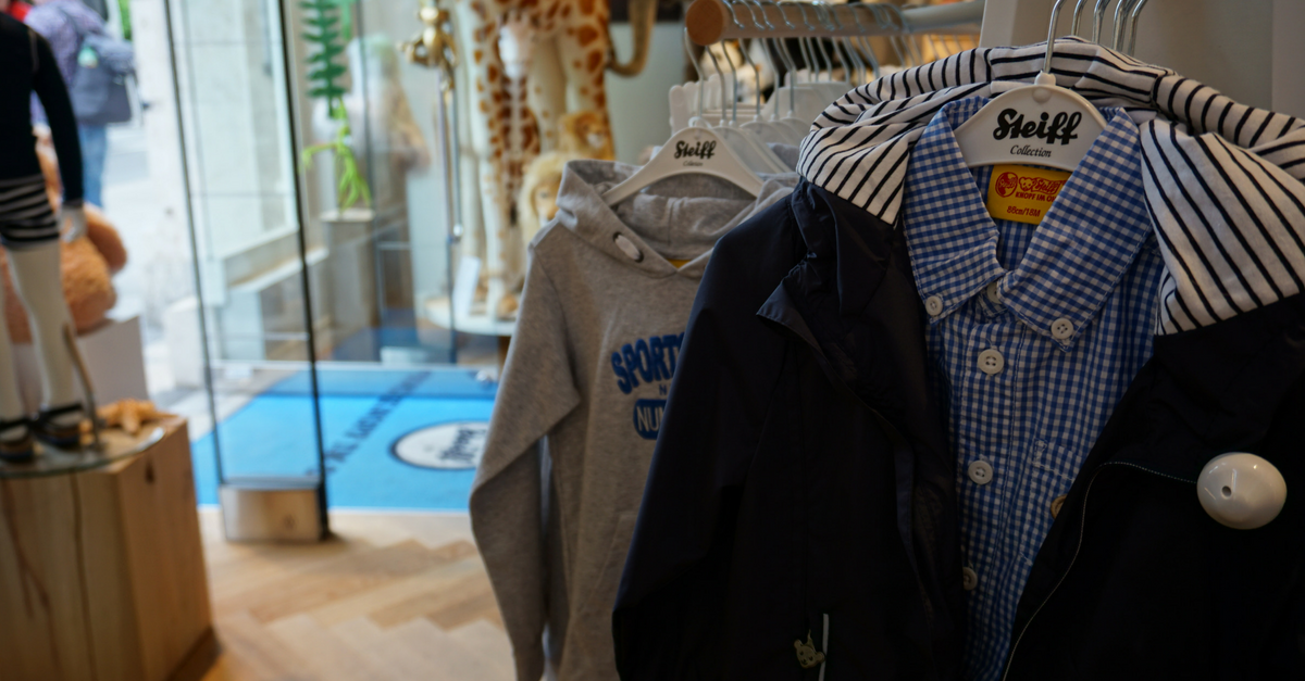 Steiff-Shop in München - Kuscheltiere, Kinderkleidung, Schuhe und Geschenke